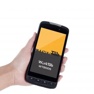 WorkTab präsentiert aktualisierten Handheld PDA WT8005 mit Zebra 2D-Scanner