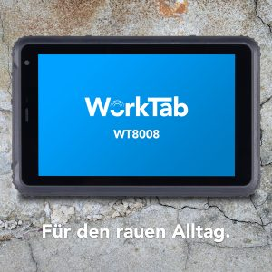 "4logistic präsentiert robustes 8"" Tablet mit Android 7 oder Windows 10 Professional"
