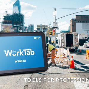 """Robustes Industrietablet WorkTab WT8012 mit 12,2"""" Display"""